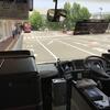 富山空港から連絡バスに乗り、JR富山駅へ