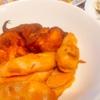 鮭の曙揚げ、魚肉ソーセージ、さつまいも天、玉子焼き