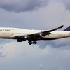 【仙台空港】デルタ航空のB747-400飛来か