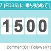 RX-7と共に過ごす1500日