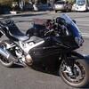 新車のバイクVFR800F(RC79)・6ヶ月点検 2,941 km