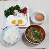 出汁が決め手の給食メニュー、沢煮椀とTKGの朝ごはん☆