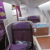 タイ国際航空 TG658 スワンナプーム(バンコク)→仁川(ソウル)ロイヤルシルククラス搭乗記