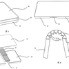 折り畳みスマホの特許申請