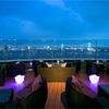 インターコンチネンタル 東京ベイのルーフトップバーは海外のような雰囲気
