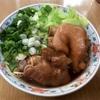 豚足を煮込んでラーメンに入れたら台湾名物・猪脚麺(ズージャウメン)っぽくなったよ