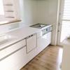 システムキッチンの掃除もセスキ炭酸ソーダで!