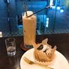 新宿の珈琲貴族エジンバラにてケーキセットを食べました。