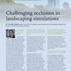 英国の科学雑誌「Impact」に「Challenging occlusion in landscape simulations(景観シミュレーションにおけるオクル―ジョンへの挑戦)」として紹介されました。
