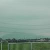 雲が多し、筑波を追う。