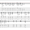 ニッチなギターテクニック練習研究(010):ジャズコード入門(ミッキマウスマーチのアレンジ)