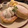 夜カフェを楽しむ。自慢のパンケーキはふっわふわで最高に旨い。【CAFE18番(前橋・南町)】