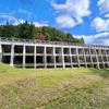 奥津発電所調整池(岡山県鏡野)