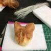 猫人形作り(茶白)⑦