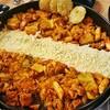 韓国人も初めて!醤油タッカルビとチーズタッカルビ【韓国で辛くないものと辛い物】