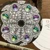 ゼンタングル 花と宝石のゼンダラ