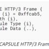 HTTP/3におけるDATAGRAMの送信と、CAPSULEフレームについて