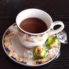 フランス料理風にコーヒーとデザートを作ってみた