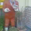 オロチョンラーメンの立像