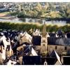 シノン城からの眺め(フランス、ロワール地方)