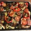 夏野菜のぎゅうぎゅう焼きは、イタリア茄子が主役。その名にふさわしく美味でした。