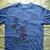 1980年代と思われる古着ミッキーマウスTシャツをご紹介。東京ディズニーリゾートもののベトナム製染み込みプリントです
