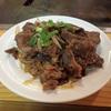 牛肉と玉ねぎの炒め物!
