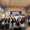 卒業式総合練習 2回目① 入場