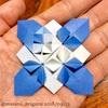 折り紙をより美しく! 〜あじさい折りは、仕込みを減らそう〜