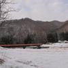 初雪の中、米沢市農村民泊受入の方々と座談会