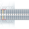 ヨーロッパの航空事情~飛行機の機材はほぼエアバスA320で、ビジネスクラスといっても席はエコノミーと同じです