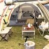 グッドラックテーブルの収納力がやばい。キャンプ場でも家でも使える!パッキングもスムーズ!