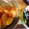 鱈、長芋ソテー、豆サラダ、玉子焼き、生姜焼き