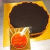 お誕生日にチョコレートタルトを作らせていただきました!