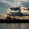 パラグアイ川の夕陽 2
