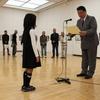 「懐かしの'車'写生&写真作品展」の入賞作品表彰式が行われました