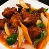 新宿の菜香菜で夜定食♪♪ おすすめメニュー「酢鶏定食」