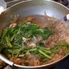 幸運な病のレシピ( 1850 )夜:さば味噌煮、ソイ煮つけ・塩焼き、スズキ解体、朝の牛丼の汁