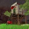 サブスタンスペインターで描いた木の家をBlenderへ!