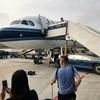 中国南方航空CZ629(大連→成田)A321 大連空港でも手を振ってのお見送り