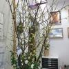 診療所のお花