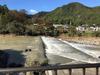上田 依田川の風景