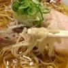 【上越市】『麺屋あごすけ』の「正油濁白湯麺」、「旨塩鶏麺」どっちも美味しかったです!