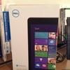 Dell Venue 8 Pro出戻り
