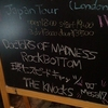 9/1 Doctors Of Madnessのライヴに行った チケット4100 物販DVD2000 Tシャツ3000 他