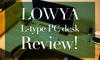 【LOWYA L字デスク レビュー】コスパ・機能・デザイン良しで満足度高めのPCデスク!