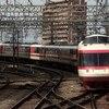 【鉄道ニュース】小田急電鉄ロマンスカー「HiSE」10000形デハ10001号車がロマンスカーミュージアムに搬入される