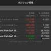 VXX-VXZ取引は1日で+3万円でましたが、昨日はちょい戻し