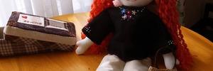【アラカンの手芸生活】ホビーラホビーレ 手作り着せかえ人形・ニーナちゃんのお洋服作りでストレス解消