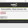 DVWAでWeak Session IDs(Low)